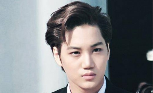 Korean Dandy Medium Fringe Up Hairstyles