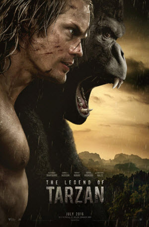 The Legend of Tarzan: Poster