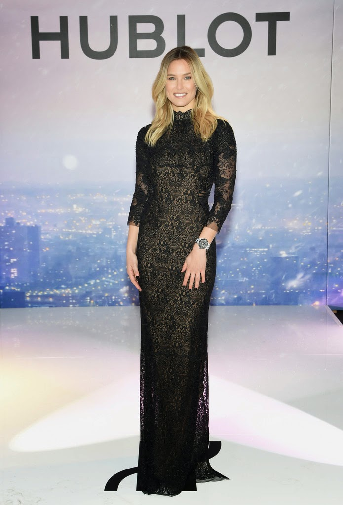 Model , TV host , Actress: Bar Refaeli - Hublot event in NYC