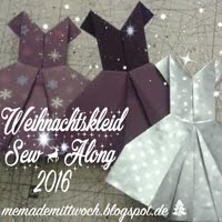 Weihnachtskleid Sew-Along 2016