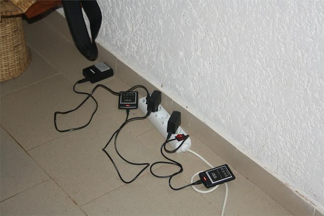 Toca recargar baterías, ...