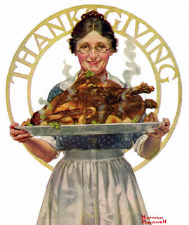 Norman Rockwell Thanksgiving 1919 Poster