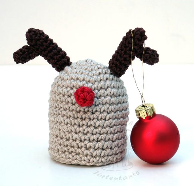 Häkelanleitung eierwärmer weihnachten