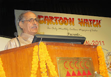 Speaking at Cartoon Festival - 2011