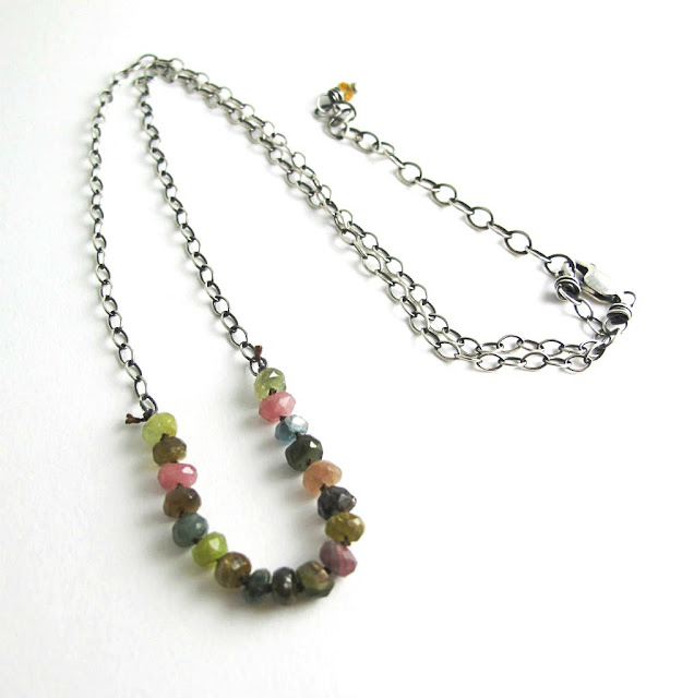Autumn Splendor Necklace by Beth Hemmila of Hint Jewelry