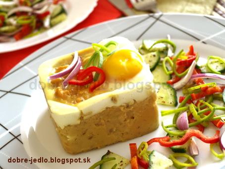 Volské oká na cviklovej zemiakovej kaši - recepty