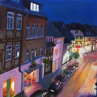 Evening in Goettingen by Liza Hirst