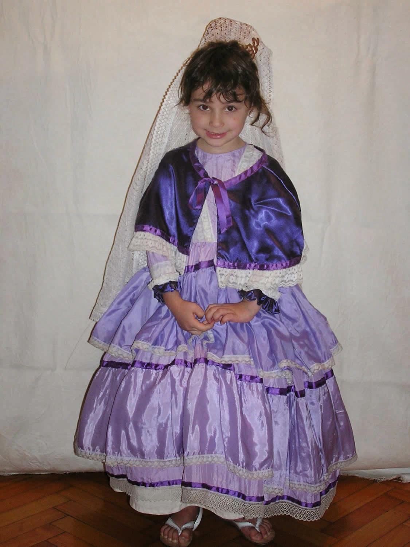 Dorable Vestidos De Las Damas De época Bandera - Vestido de Novia ...