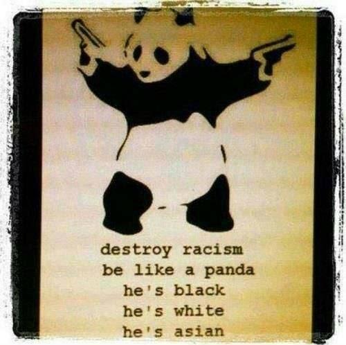 be like a pandaa