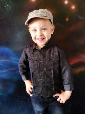 Izack Middleton photogenic child