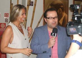 Antonio Carlos Gomes e Adriane Galisteu