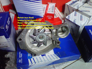 water pump mobil Hyundai Kia
