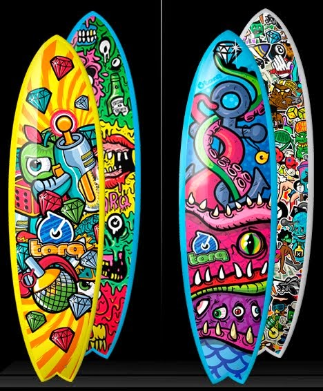 TORQ Ltd - Surfboard