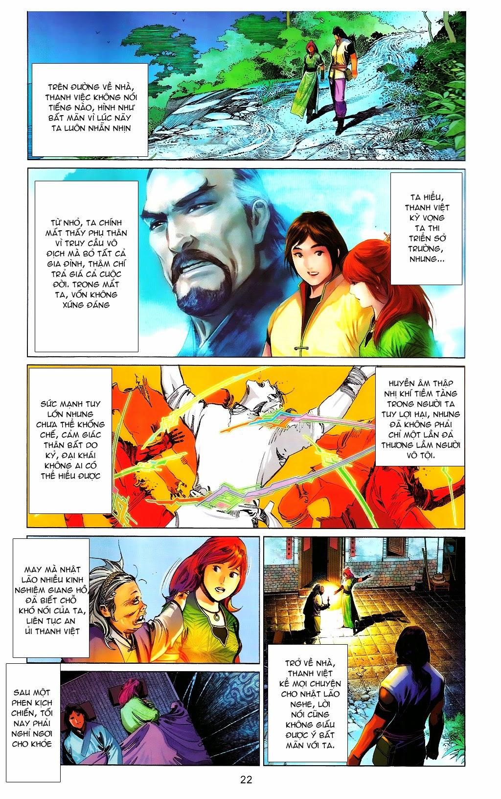 Phong Vân chap 664 Trang 22 - Mangak.info