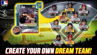 Screenshots of the Big Win MLB for Android tablet, phone.