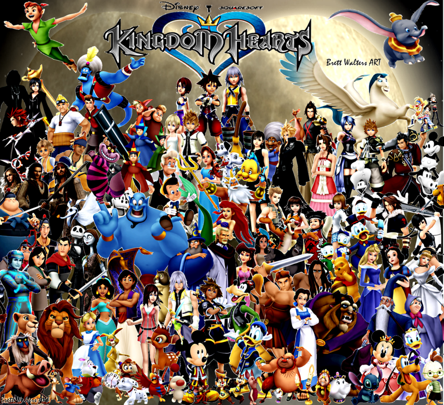 Bara Lotus Garden: Kingdom Hearts Challenge Day 25: Favorite system to ... Disney Characters Female Names