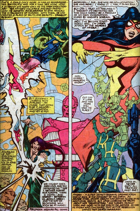 Chris Claremont Mind Control Central Spider Woman S