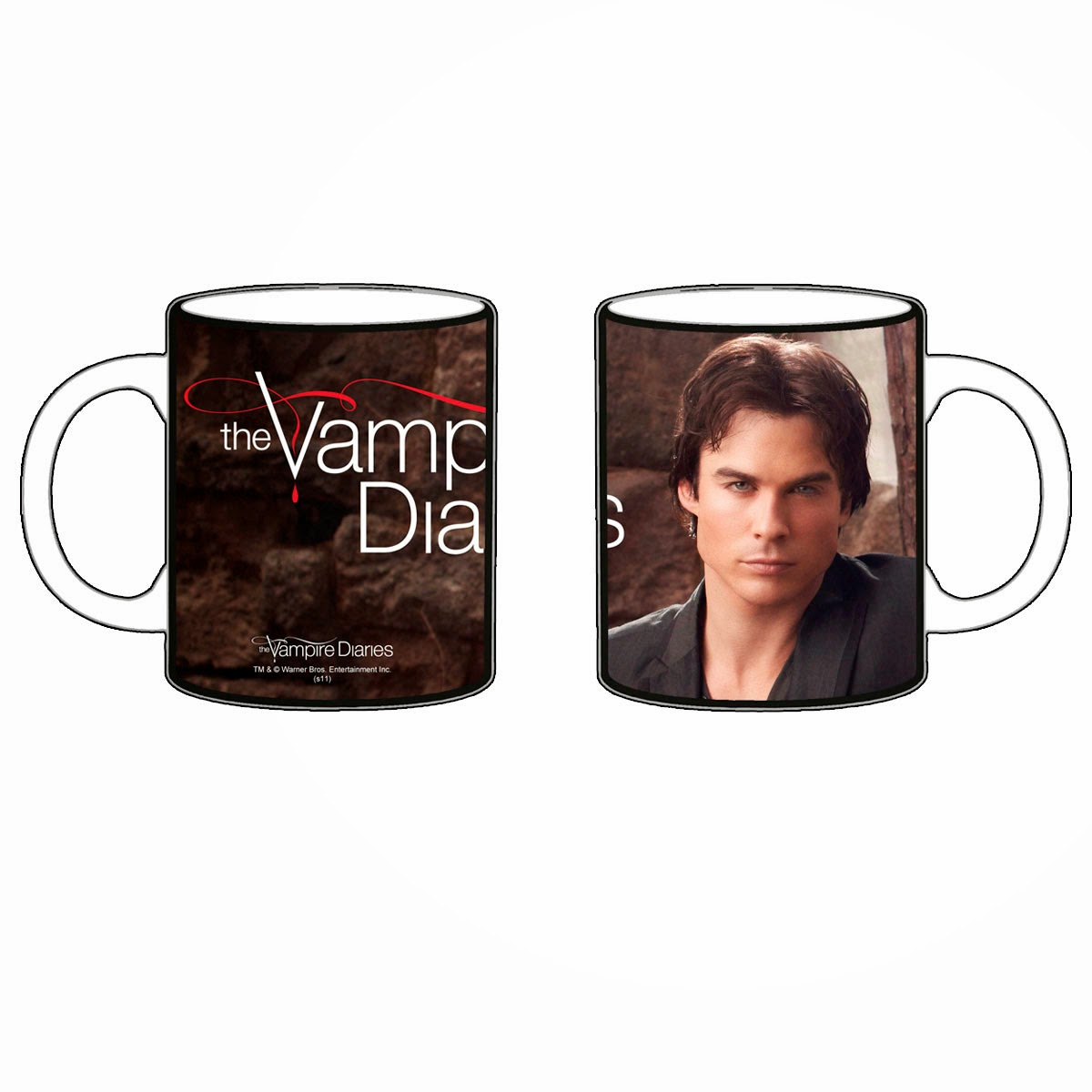 Taza Vampire Diaries Damon Salvatore