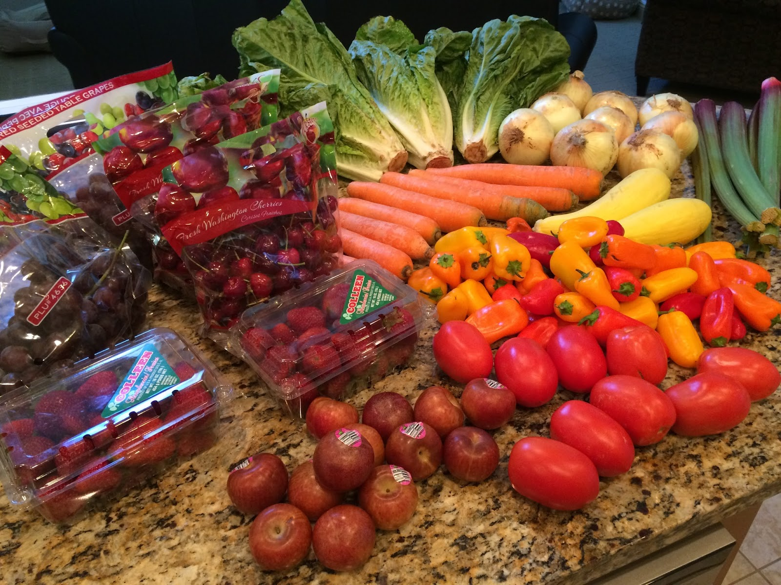 Food garden pictures - Bountiful Baskets Haul 7 25 2015