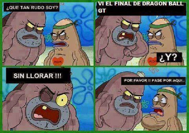Vi el final de Dragon Ball GT