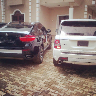 PHOTOS: K-Cee Acquires Two brand New Cars; 2013 Range Rover and BMW X6