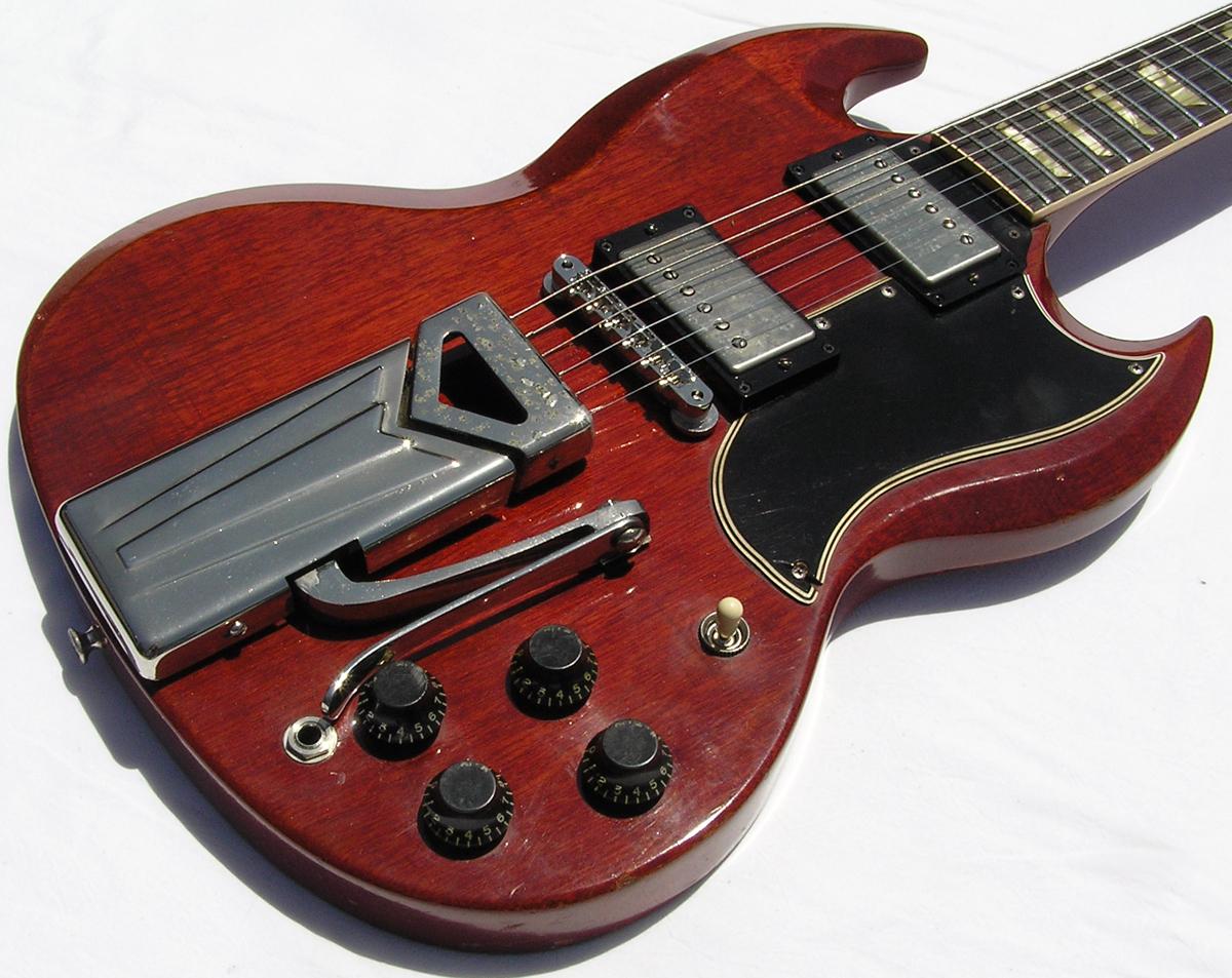 Vintage Guitarz May 2013 1965 Gibson Es345 Wiring Repair Chicago Fret Works Guitar 1961 Sg Standard 61 Les Paul