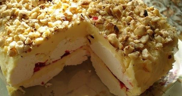 Вкусный торт зефир