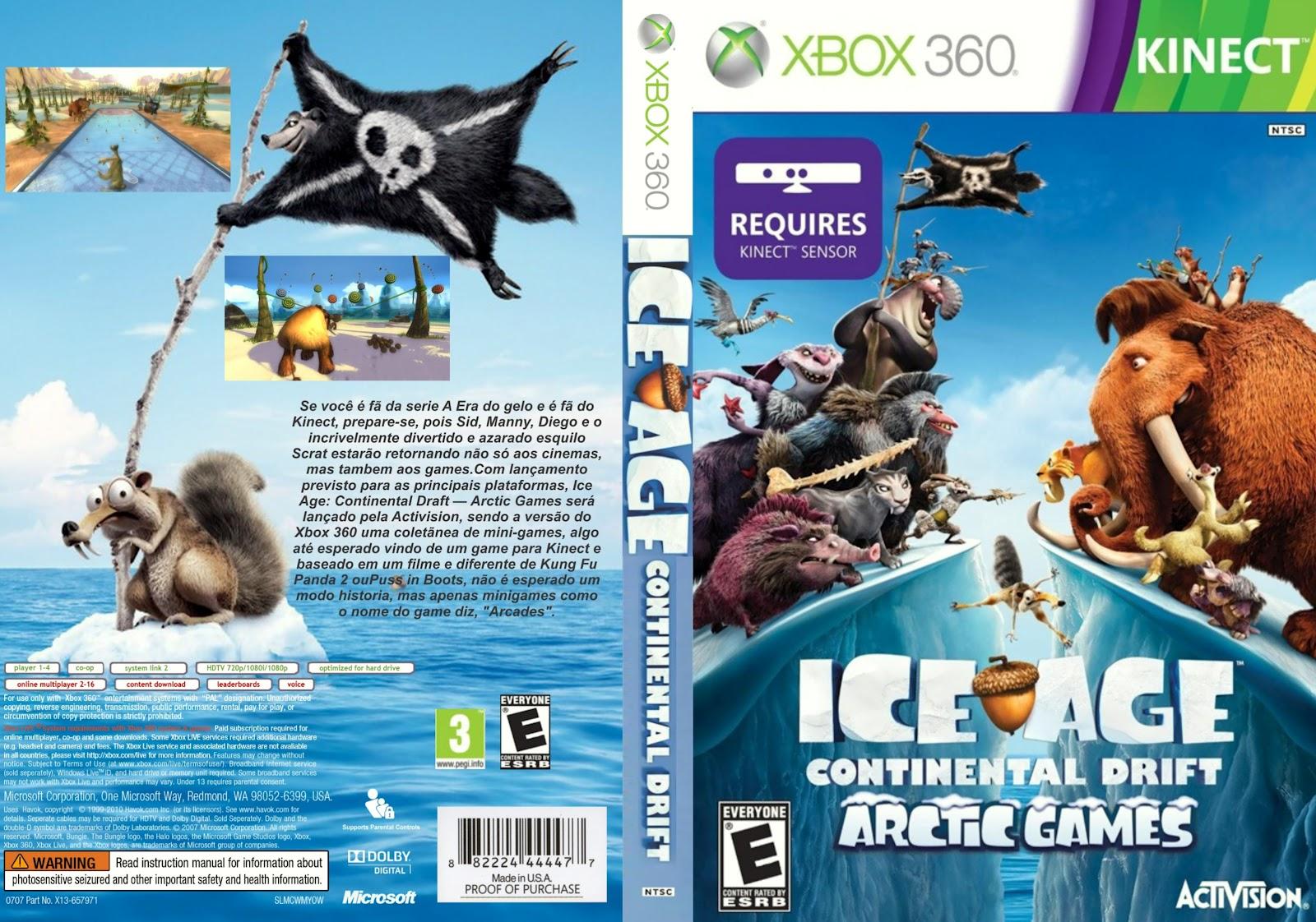 SAPO CAPAS GAMES: Ice Age - Continental Drift
