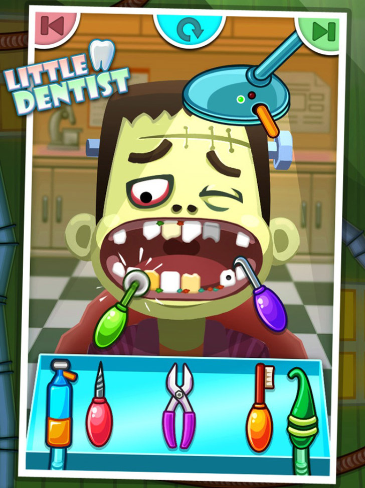 Little Dentist - Kids Games App iTunes Google Play App By George CL - FreeApps.ws