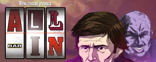 all in poker gioco d'azzardo pazzi per il fumetto vincitore concorso fumetto banner cover copertina 2014 mirko treccani