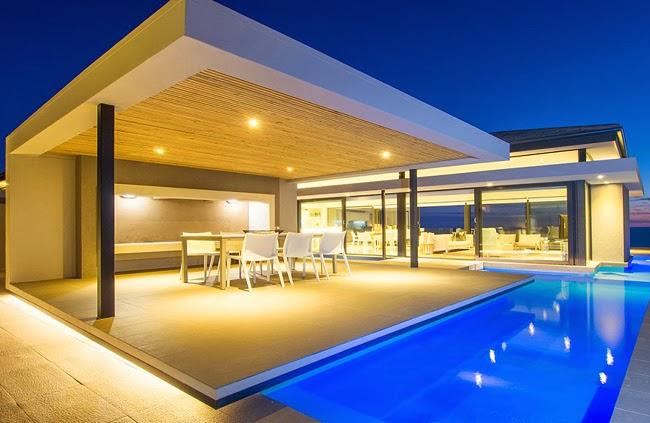 Casa minimalista en sudafrica minimalistas 2015 for Casa minimalista vidriada
