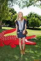 Diane Kruger Lacoste L!ve Hosts A Desert Pool Party at Coachella