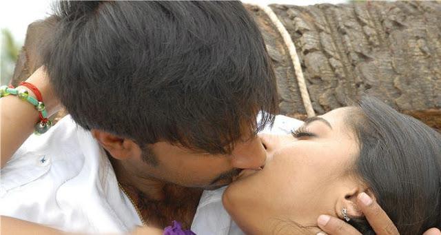 Anushka Shetty Lip Kiss