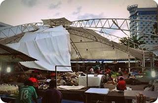Kondisi Pasar Sementara Mama-mama Papua Semakin Tidak Terawat