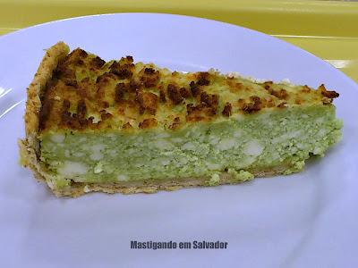 Rafigos: Torta de Espinafre com Ricota