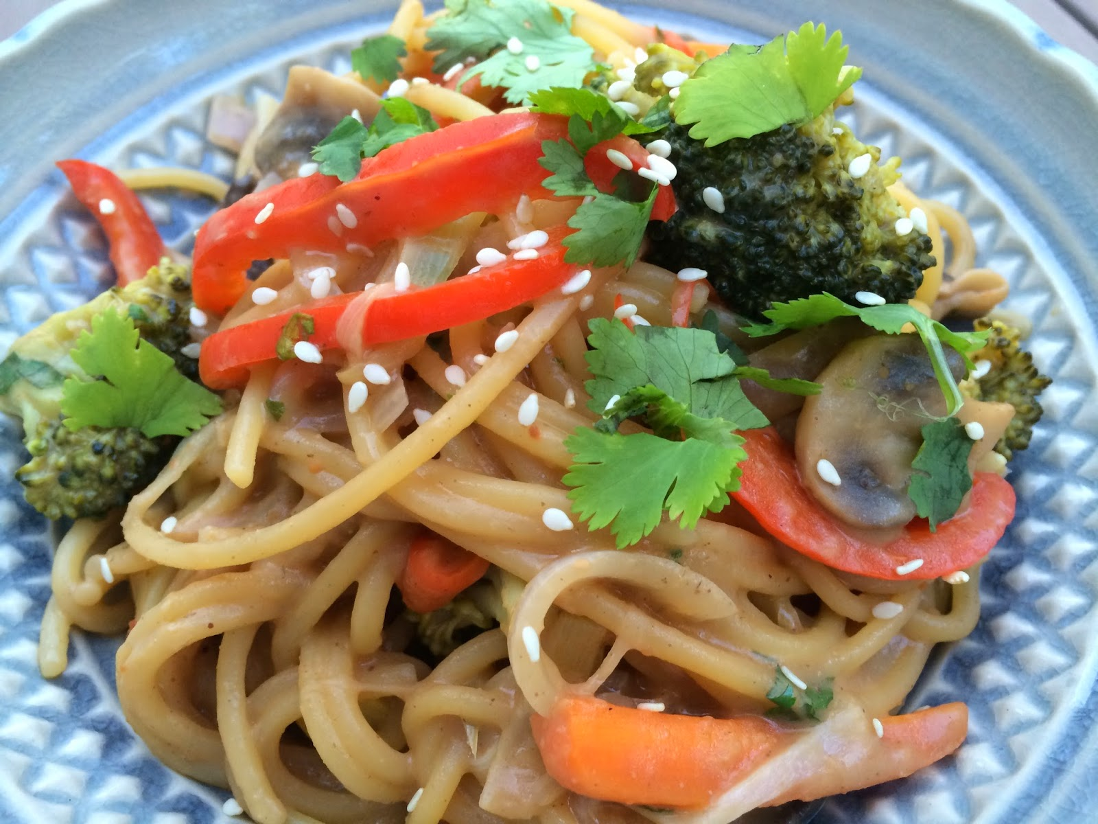 One Pot Pasta: Thai Peanut Butter Noodles