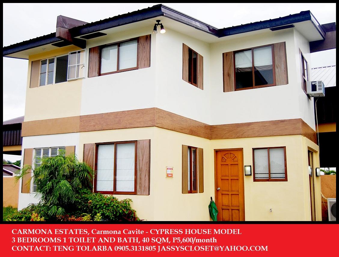 Carmona Philippines  city photos gallery : ... IN CAVITE CITY PHILIPPINES: CARMONA ESTATES CYPRESS HOUSE MODEL