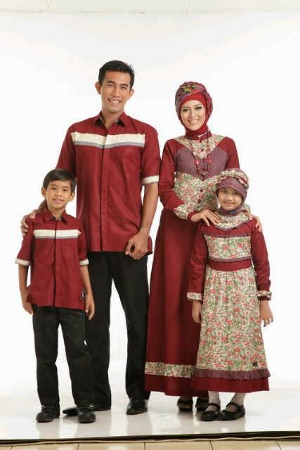 Model Busana Muslim Keluarga 2014