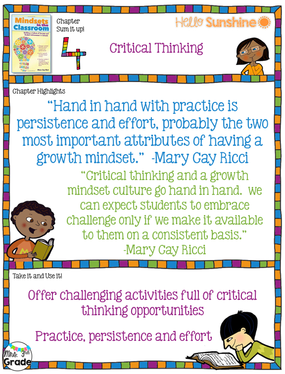 classroom activities for critical thinking There are many ways to articulate the concept of critical thinking, yet every substantive conception must contain certain core elements consider these brief conceptualizations of critical thinking.