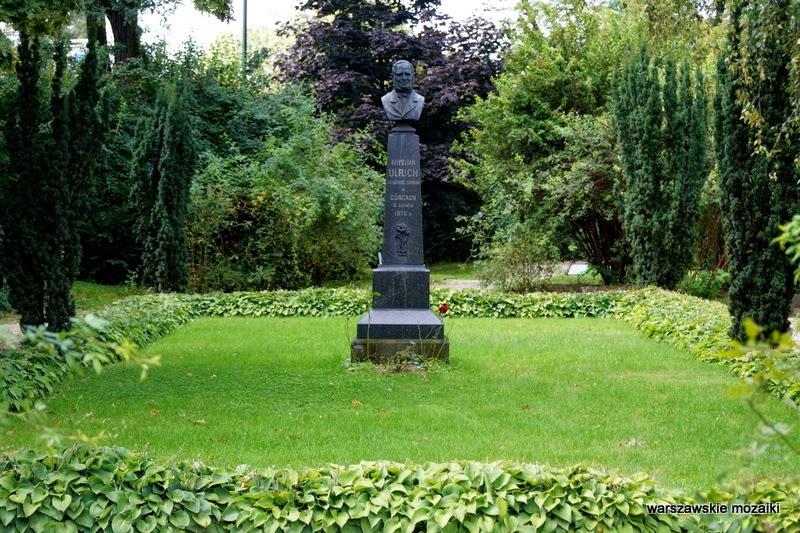 Ulrich park ogród Warszawa Wola tereny zielone Wola Park rośliny pomnik Ulrychów
