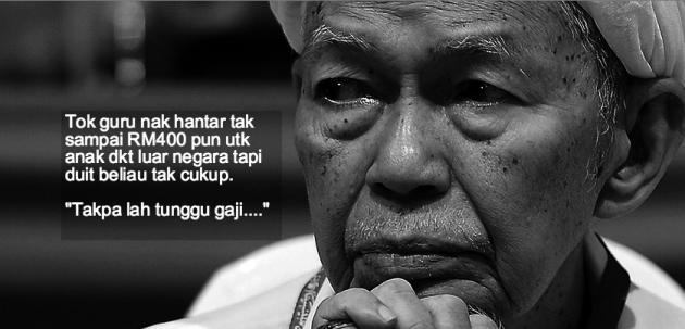 Tanggal 12 Februari 2015 Yang Lalu Negara Kehilangan Seorang Pemimpin Juga Tokoh Agamawan Cukup Disegani Allahyarham Datuk Nik Abdul Aziz Mat