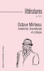 "Numéro Octave Mirbeau de ""Littératures"", 2012"