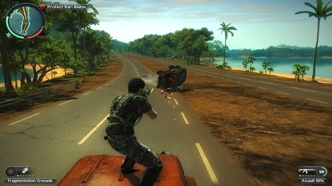Just Cause 2 PC Gameplay