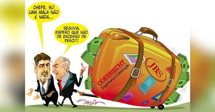 GESTÃO TEMER, AÉCIO e GEDDEL PROTAGONIZARAM MALAS DE DINHEIRO!