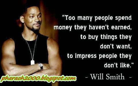 Photo of the day- Will Smith advice