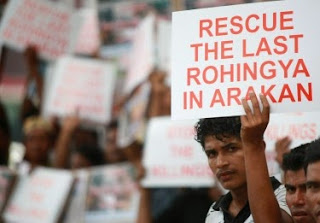 Pelarian Rohingya Di Myanmar