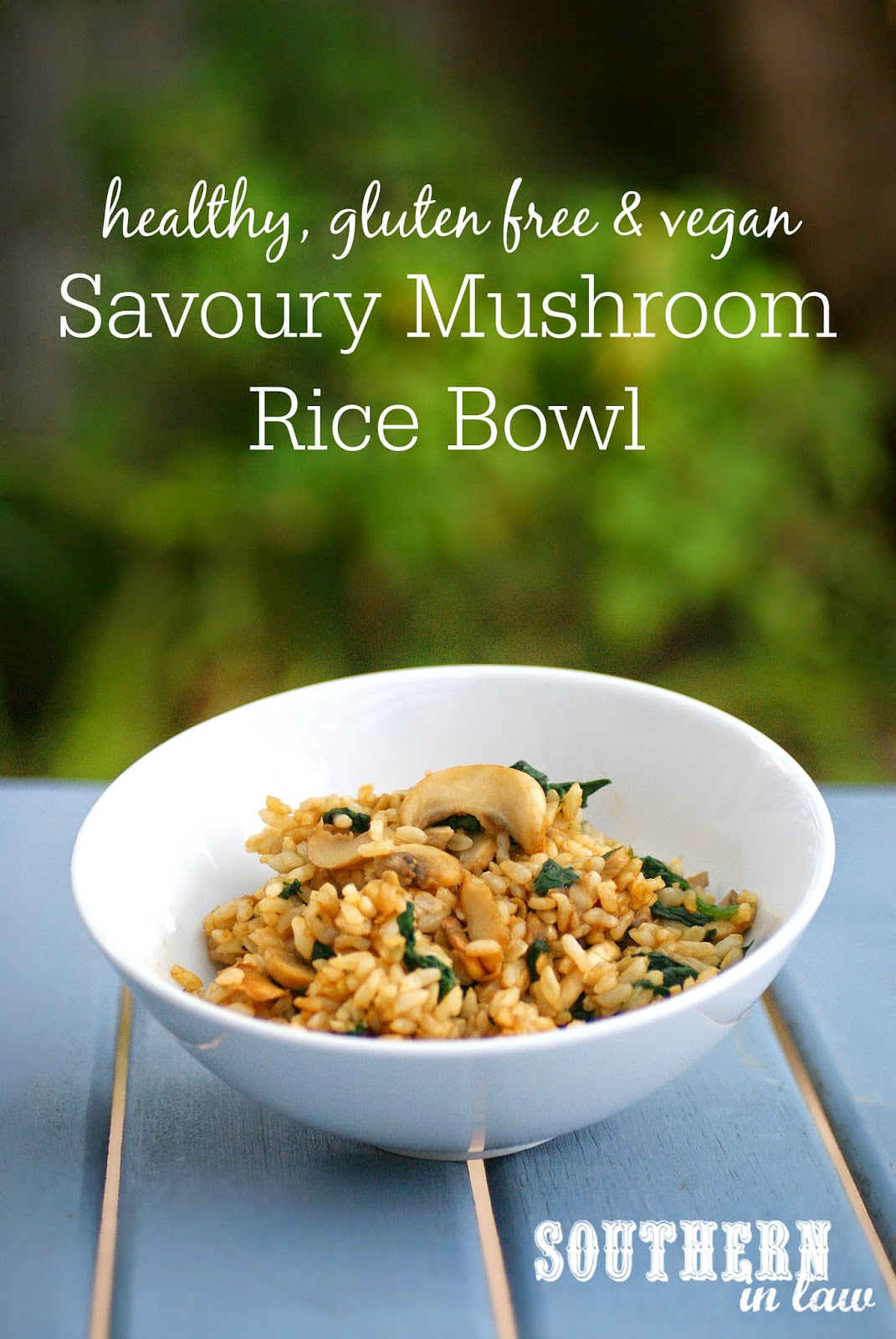 how to cook savoury mushrooms