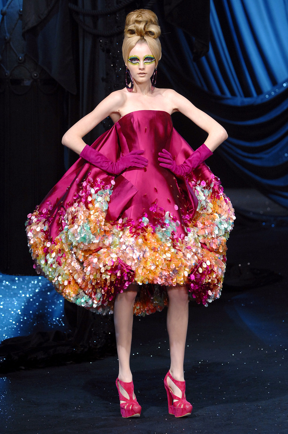 Christian Dior Haute Couture Spring/Summer 2008 (John Galliano = JG)