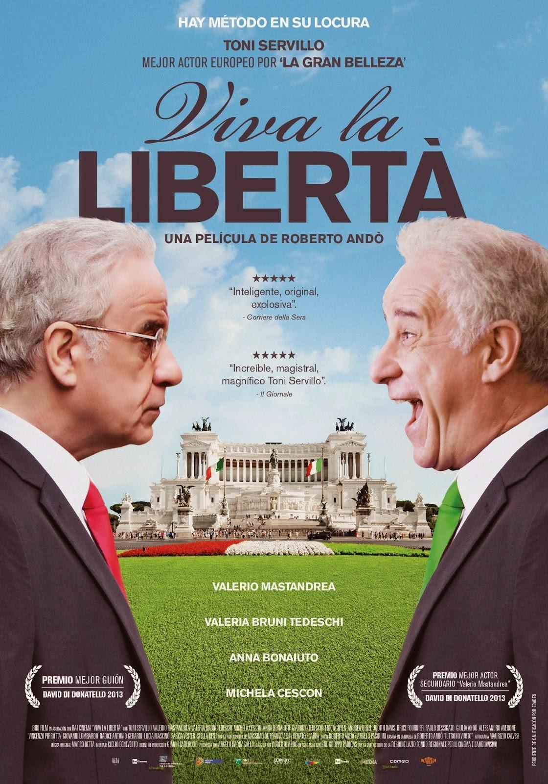 VIVA LA LIBERTÀ (Roberto Andò, 2014)