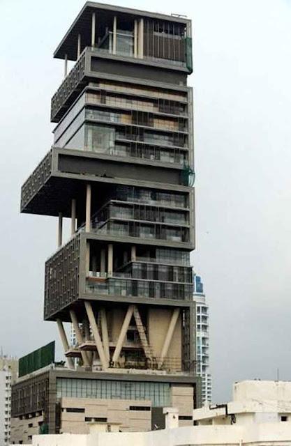 FOTO Rumah Mewah Pengusaha India Luas 38.000 M2